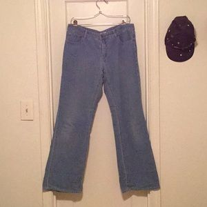 'Halogen' Corduroy Boot Cut Flare Cotton Pant